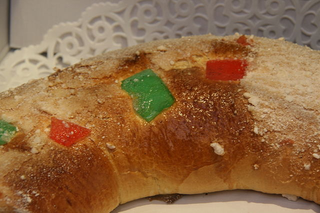 Dulces navideños: coulants de chocolate y roscón de Reyes