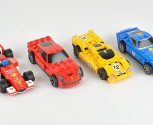 Set de coches de Ferrari
