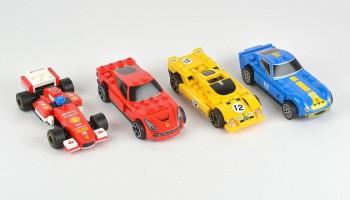 Set de coches de Ferrari