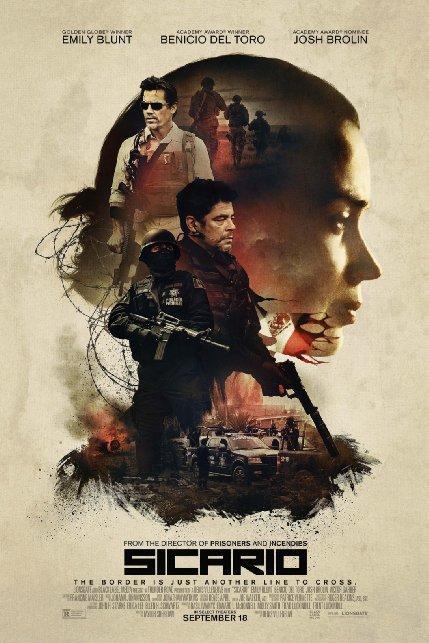"""Crítica de """"Sicario: Tierra de Nadie"""", con Emily Blunt y Benicio del Toro"""