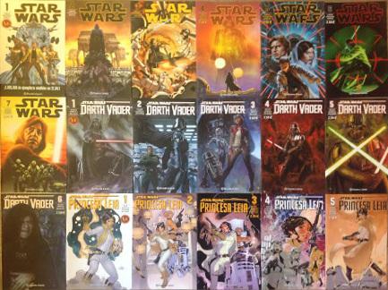 Star Wars Cómics. ¿Merecen la pena?