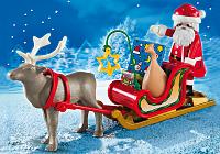 Trineo Papa Noel reno Playmobil Navidad