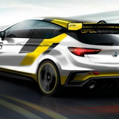 Dibujo del Opel Astra TCR
