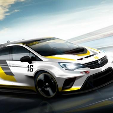 Recreación del Opel Astra TCR