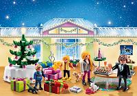 calendario de adviento cena Navidad Playmobil