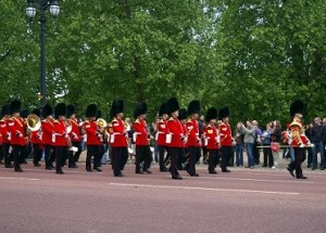 Guardia Real. Londres