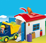 camion garaje encajables playmobil