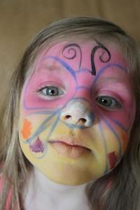 maquillaje infantil de Halloween original