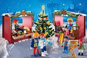 Mercado Navidad Playmobil
