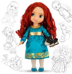 Muñeca de Mérida Disney