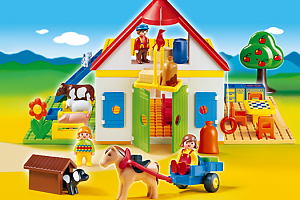 Mi primera granja Playmobil 123