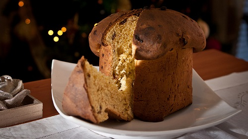El panettone: dulce típico de la Navidad italiana. Historia y receta