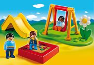 Parque infantil columpios Playmobil 123