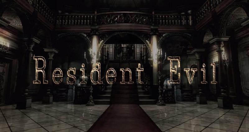 Mansión de Resident Evil HD Remastered. Terror