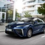 El coche de hidrógeno de Toyota llega a Europa