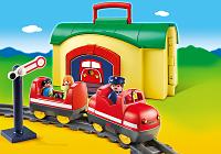 tren locomotora Playmobil 123