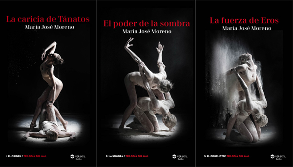 """Entrevista a María José Moreno, autora de """"La caricia de Tánatos"""""""