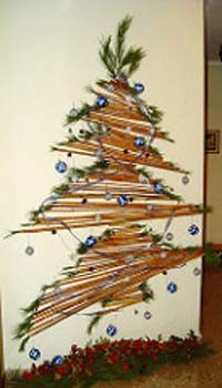 Árbol para una Navidad ecológica