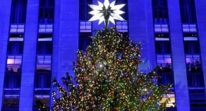 Swarovski, estrella en Árbol de Navidad de Nueva York