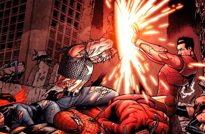 Arte conceptual 'Civil War' - @Marvel