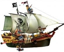 Barco pirata de ataque Playmobil