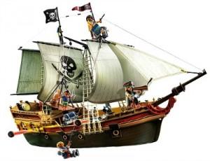 Barco pirata botín Playmobil