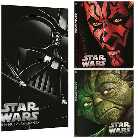 Películas Star Wars: ¡Hazte con la nueva colección exclusiva!
