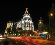 Edificio Metropolis en la confluencia de Alcalá con Gran Via