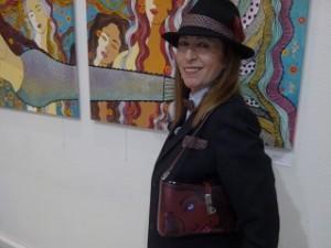Entrevista a la pintora Carmen Navas - Exposición de sus cuadros