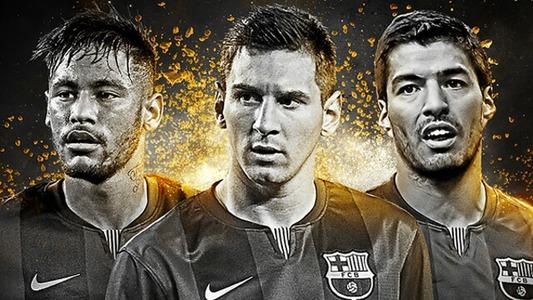 El tridente letal del Barcelona by FIFA