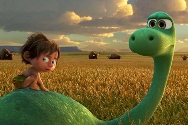 """Crítica de """"El viaje de Arlo"""", de Pixar"""