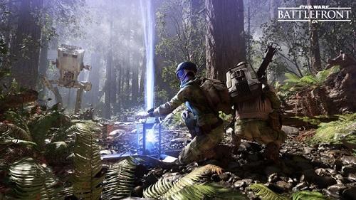 Escena de Star Wars Battlefront