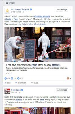 Hollande declara el estado de sitio tras la tragedia sufrida en París por terrorismo islámico
