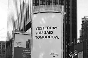 Eslóganes motivacionales de Just do it de Nike
