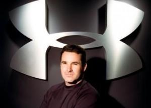 El creador de la marca Under Armour. Kevin Plank