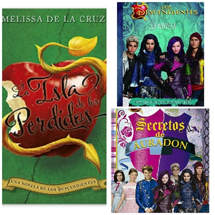 Descendientes Disney, libros divertidos para regalar