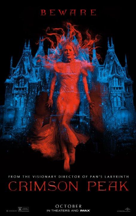 """Crítica de """"La Cumbre Escarlata"""", de Guillermo del Toro, con Jessica Chastain"""