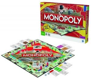 Monopoly, juego de mesa. Imagen de Amazon