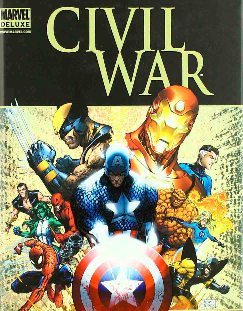 Los superhéroes están en guerra: 'Civil War', de Mark Millar y Steve McNiven