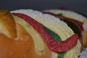 Rosca de Reyes tradicional mexicana