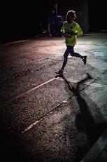 Corriendo por la noche