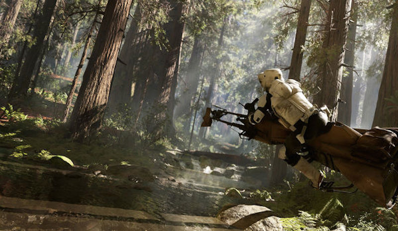 Shooter en Star Wars Battlefront