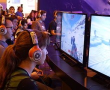 Exhibición de Star Wars: Battlefront en España 2015 en Madrid Games