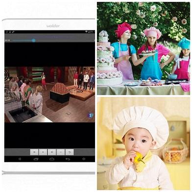 Tablet MasterChef Junior, un regalo para toda la familia