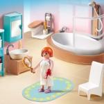cuarto de baño aseo gran casa de muñecas playmobil