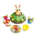 juego de mesa niños conejo saltarín