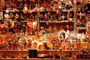 Mercado navideño en Praga
