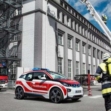 BMW i3 servicios de emergencia