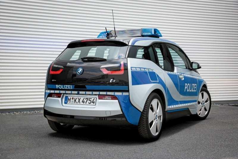 BMW i3 Policía