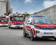 BMW i3 Bomberos